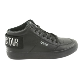 Negru Pantofi mari negri Big Star 274351