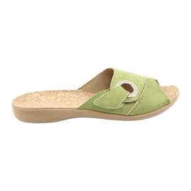 Befado femei pantofi pu 265D008 verde