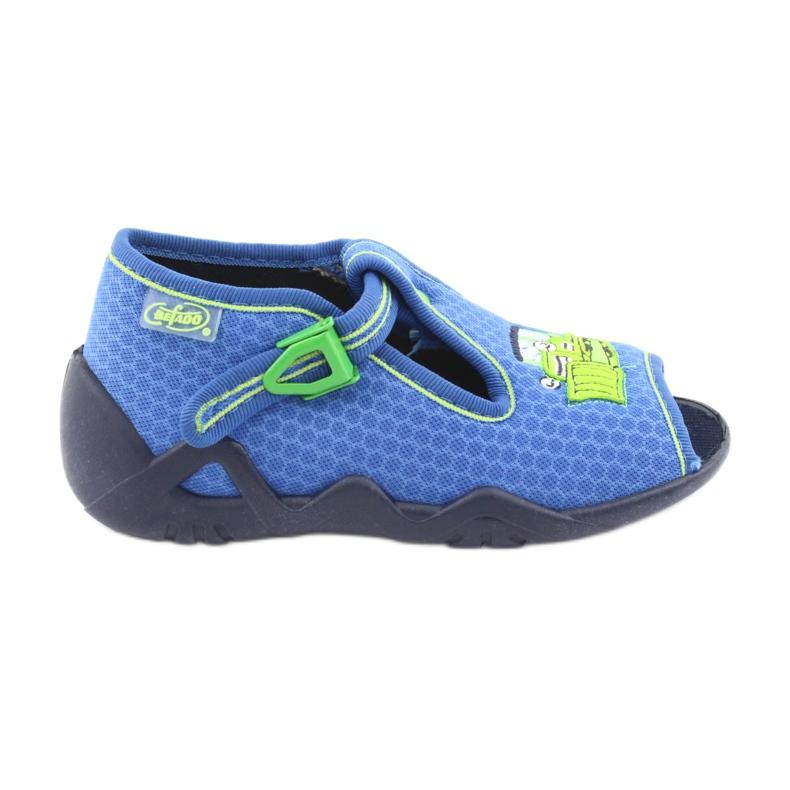 Încălțăminte pentru copii Befado 217P094 albastru verde