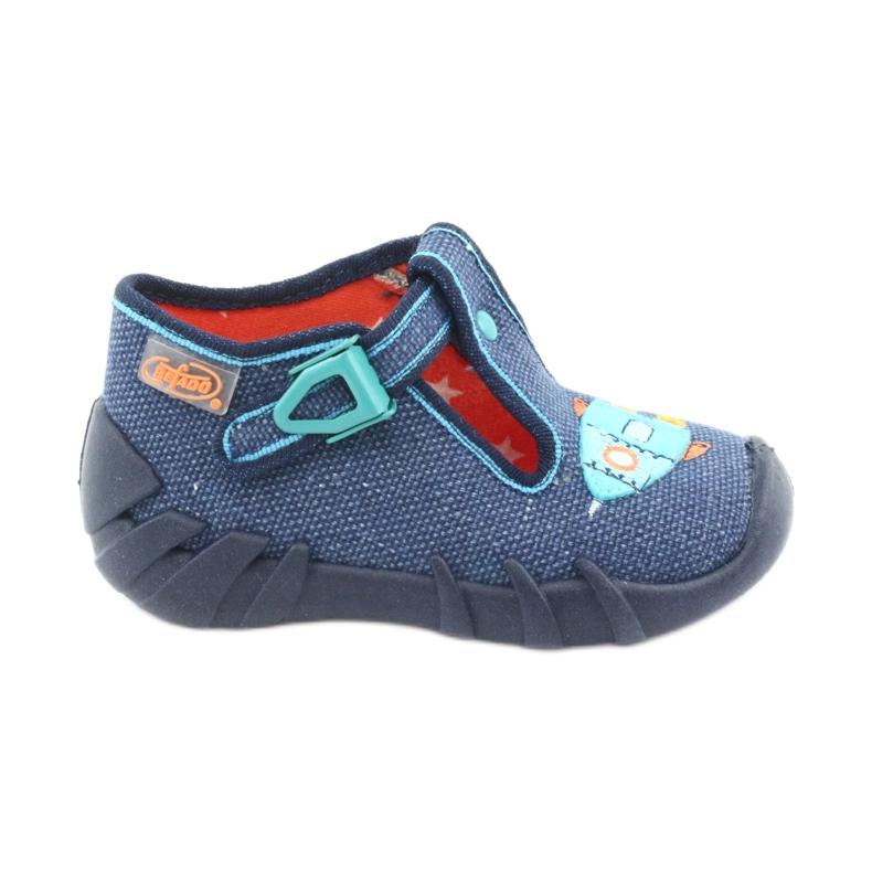 Încălțăminte pentru copii Befado 110P356 albastru marin albastru