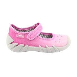 Încălțăminte pentru copii Befado 109P171 roz gri