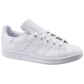 Alb Adidas Stan Smith Jr pantofi S76330