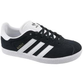 Negru Adidas Gazelle Jr pantofi BB2502