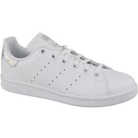 Alb Adidas Stan Smith JR EE8483 pantofi