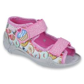 Încălțăminte pentru copii Befado 242P092 roz multicolor