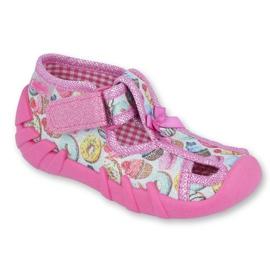 Încălțăminte pentru copii Befado 190P091 roz multicolor