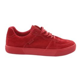 Big Star Pantofi adulți de culoare roșie 174364 roșu