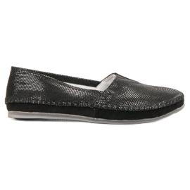 Filippo Pantofi din piele neagră din piele negru