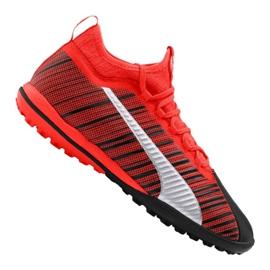 Cizme de fotbal Puma One 5.3 Tt M 105648-01 roșu negru