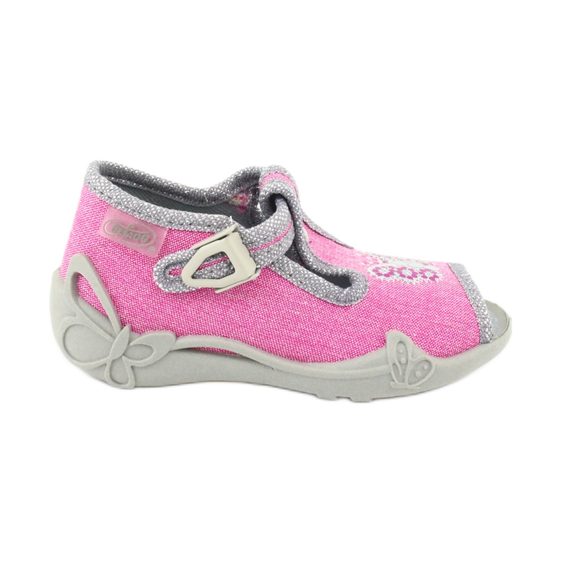 Încălțăminte pentru copii Befado 213P111 roz gri