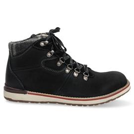Pantofi cu ghete înalte izolate SH23 negru