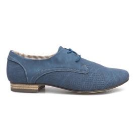 Albastru Pantofi Albastri Simone Jazzówki