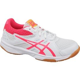 Pantofi de volei Asics Upcourt 3 Gs Jr 1074A005-104 alb alb