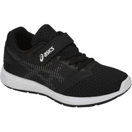 Negru Pantofi de alergare Asics Patriot 10 Ps Jr 1014A026-001