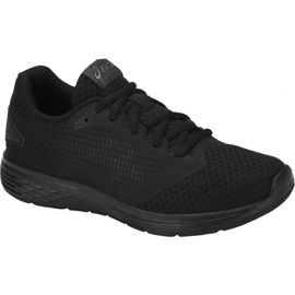 Negru Pantofi de alergare Asics Patriot 10 Gs Jr 1014A027-002