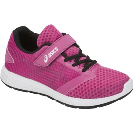 Roz Pantofi de alergare Asics Patriot 10 Ps Jr 1014A026-500