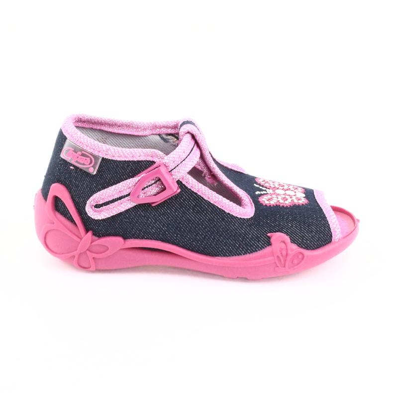 Încălțăminte pentru copii Befado 213P112 roz gri multicolor