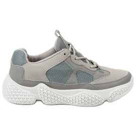 SHELOVET Moda pantofi gri