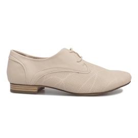 Pantofi Bej Jazz Simone maro