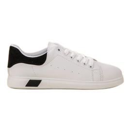 Ideal Shoes alb Pantofi sport pentru femei