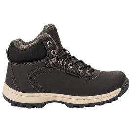 Ax Boxing gri Pantofi de trekking izolați