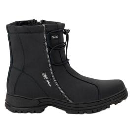 Ax Boxing Black Boots pentru zăpadă negru