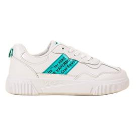 Ax Boxing Pantofi sport pentru femei alb