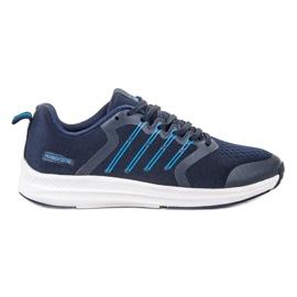 Ax Boxing Lumină sport pantofi albastru