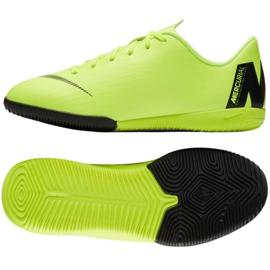 Nike Mercurial VaporX 12 Academy Gs Ic Jr AJ3101 701 pantofi verzi