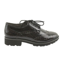 Pantofi dantela Oxford Caprice 23701
