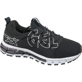 Negru Asics Gel-Quantum 180 Sc Gs Jr T8FVQ-9090 pantofi de alergare