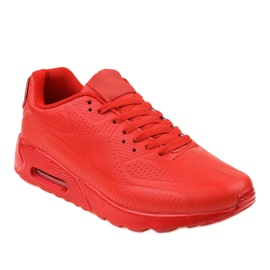 Roșu Încălțăminte sport pentru bărbați roșii