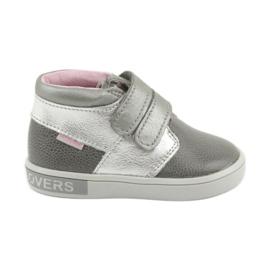 Pantofi Velcro Mazurek 1355 gri