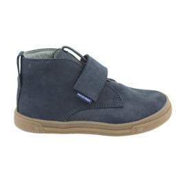 Pantofi velcro Mazurek 106 bleumarin
