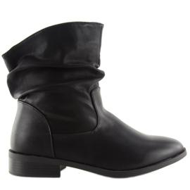 Cizme negre pentru femei 1127-PA Negru