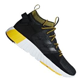Negru Pantofi Adidas Questarstrike Mid M G25773