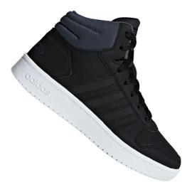 Negru Pantofi Adidas Hoops Mid 2.0 K Jr F35797