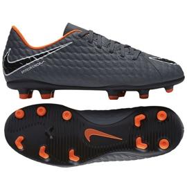 Pantofi de fotbal Nike Hypervenom Phantom Iii Club Fg Jr AH7290-081 gri