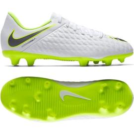 Pantofi de fotbal Nike Hypervenom Phantom 3Club Fg Jr AJ4146-107 alb