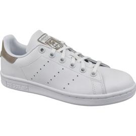 Alb Pantofi Adidas Stan Smith Jr DB1200