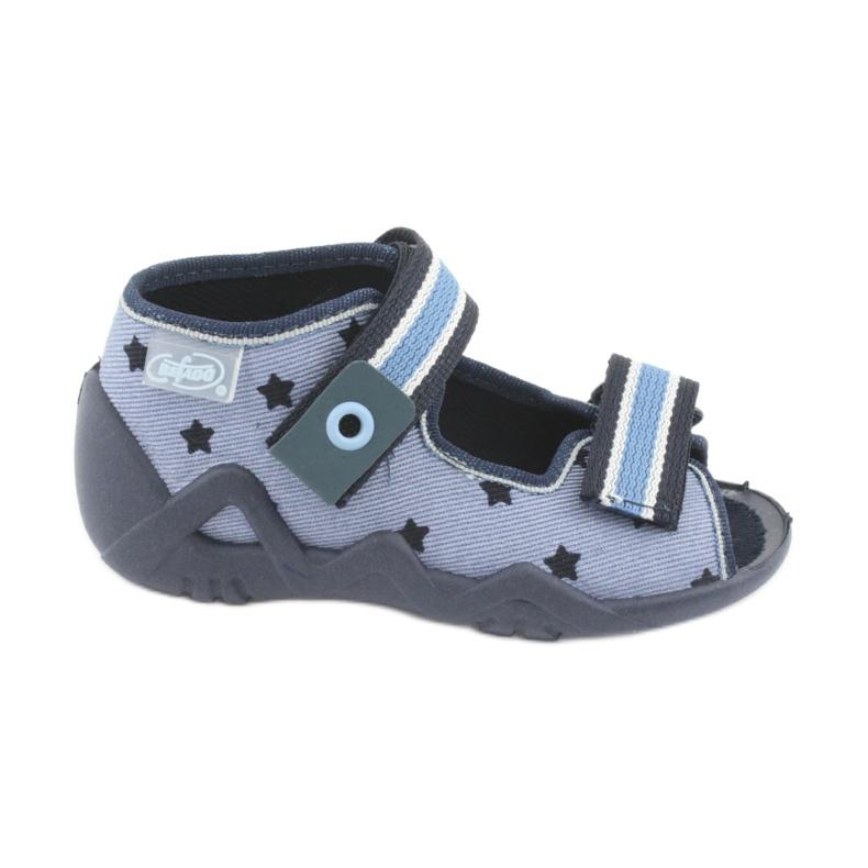 Pantofi pentru copii albastru Befado 250P079