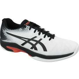 Asics Solution Speed ​​Ff Indoor M 1041A110-102 pantofi de tenis alb