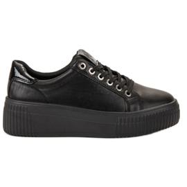 Kylie negru Pantofi sport pe platformă