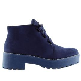 Pantofi pentru femei încălțăminte pentru femei LL219 Blue bleumarin