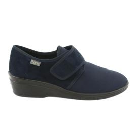 Befado femei pantofi pu 033D001 bleumarin