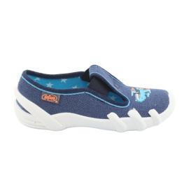 Încălțăminte pentru copii Befado 290X188 albastru marin albastru