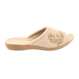 Befado femei pantofi pu 256D013 maro