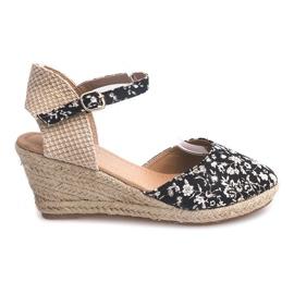 Sandale cu fustă 50427 Bej
