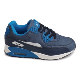 Sneakers Trainers Air Max B306A-47 BLUE albastru