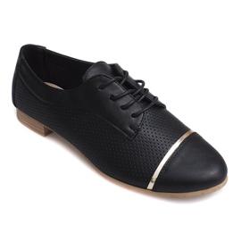 Negru Pantofi joși pentru femei Openwork Jazz 6-154 negri
